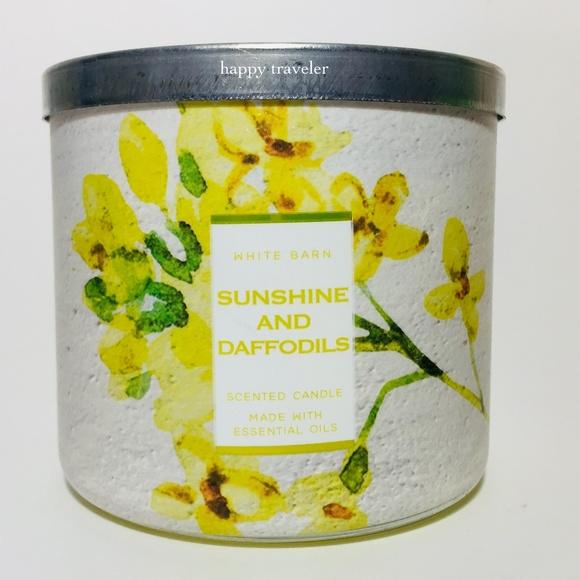 SUNSHINE & DAFFODILS 3 Wick Candle